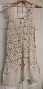 Crochet beach/pool cover dress